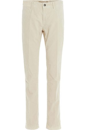 Incotex MEN'S 12S10040181033 BEIGE COTTON PANTS