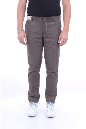 Incotex Beige and black trousers