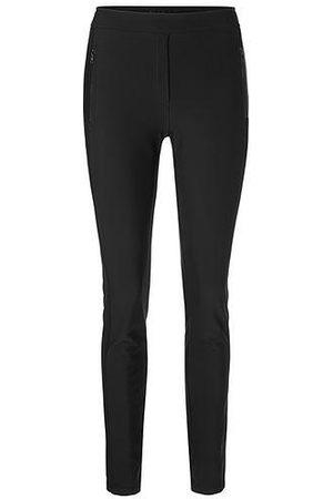 Marc Cain Women Sports Pants - Sports Warm Jersey Trousers Black PS 81.46 J60