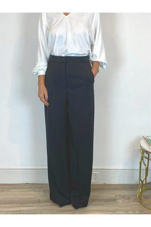 Emme Marella Mayaca Wide Leg Pants Black