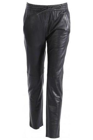 Oakwood Gift Leather Trousers in Black