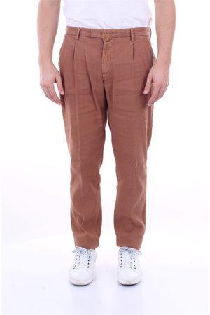 Briglia 1949 Trousers Regular Men Cinnamon