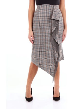 Isabelle Blanche Knee-length skirt