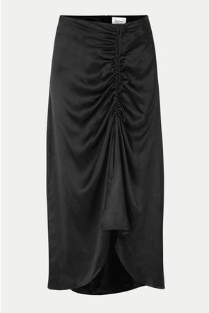 Second Female Lily Midi Skirt - Black