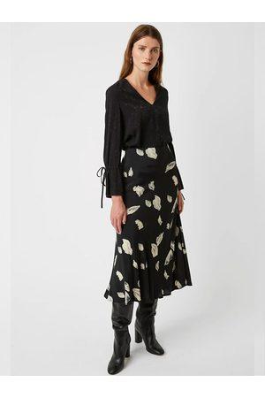 Great Plains Winter Umbra Midi Skirt in