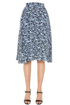 Jovonna WOMEN'S HORAI2BLUEZEBRA VISCOSE SKIRT