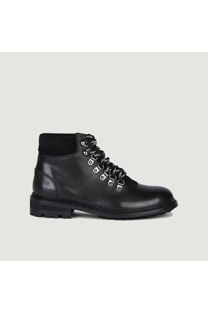 ANTHOLOGY PARIS Meribel leather boots Princesse daim noir