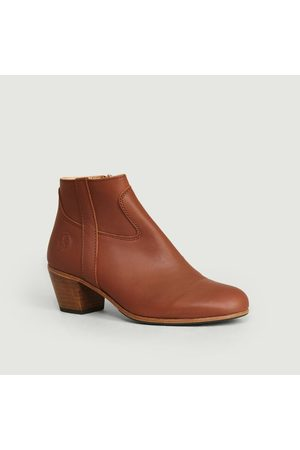 La Botte Gardiane Full grain calf leather Gil boots Cognac