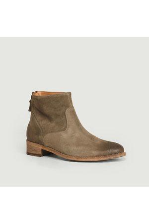 ANTHOLOGY PARIS Suede Boots Caribou