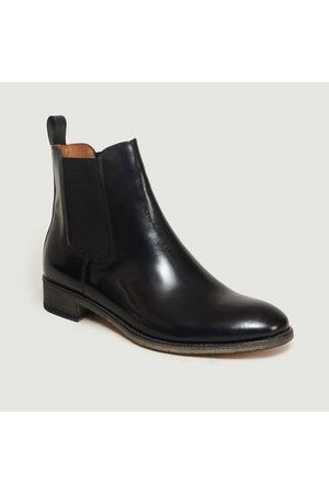 ANTHOLOGY PARIS Blake Chelsea Boots Polido NOIR