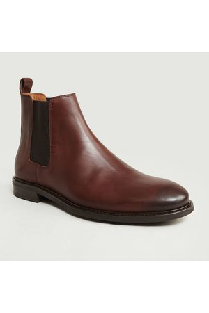 ANTHOLOGY PARIS Leather Chelsea Boots 7275