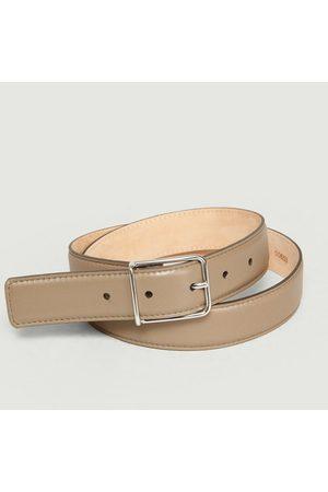 MAISON BOINET Leather Belt Rock