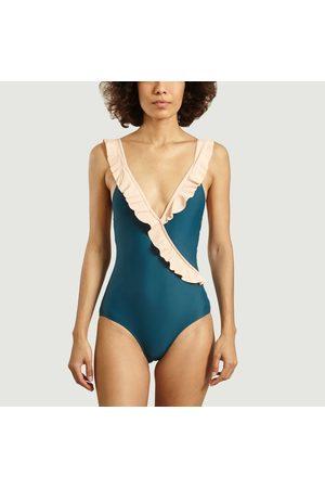 Albertine One-piece swimsuit Pina DUCK > LILA