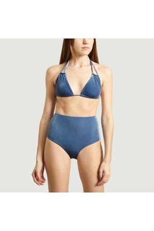 Albertine Velvet Two Piece Hermosa Swimsuit ATLANTIDA VELVET