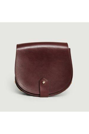 HERBERT FRERE SOEUR Le Mamour leather bag Bordeaux Herbert Frère Soeur