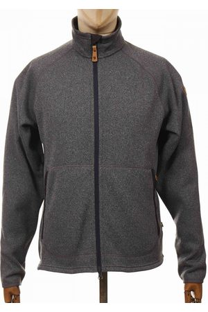 Fjällräven Fjallraven Ovik Fleece Zip Sweater Jacket - Dark Grey
