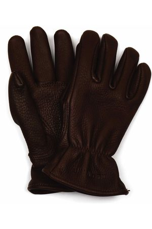 Red Wing Women Gloves - 95231 Lined Buckskin Leather Gloves - Size: Medium, Col