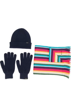 Paul Smith Scarf, Hat and Gloves Gift Set