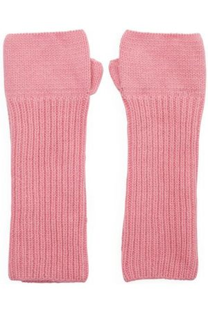 SOMERVILLE . Cashmere Loose Rib Wrist Warmers
