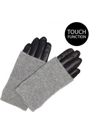 Mark Berg Markberg Helly Gloves in with Grey