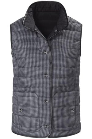 Basler And Charcoal Grey Quilted Gilet 1208110101