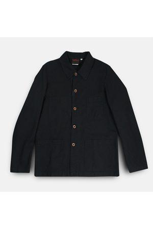 VÉTRA Short Workwear Jacket - Black