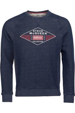 Barbour International SMQ Application Sweatshirt Navy