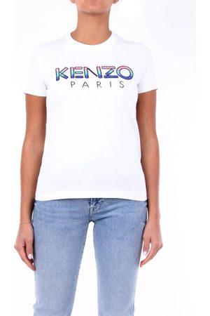 Kenzo Women T-shirts - WOMEN'S 2TS821936BIANCO COTTON T-SHIRT