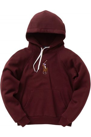 Ralph Lauren WOMEN'S 211800246006 BURGUNDY COTTON SWEATSHIRT