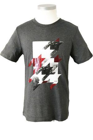 HUGO BOSS TESSLER 154 - Slim Fit T-Shirt With Houndstooth Design 50437804