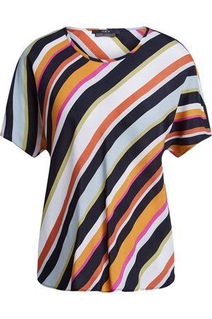 SET Women Tops - SET Diagonal Striped Top - Multi
