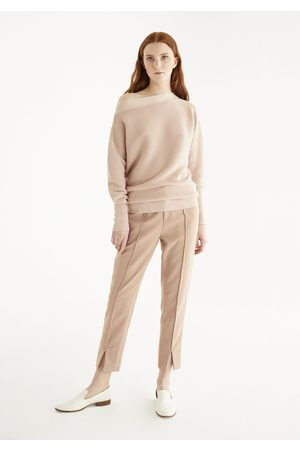 Paisie Women Sweaters - Boat Neck Ribbed Jumper