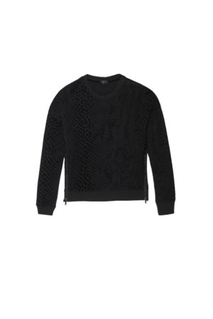 Rails Marlo Sweatshirt - Flocked Cobra