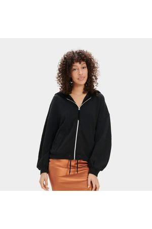 UGG Abbi half moon sleeve hoodie, Title: BLK