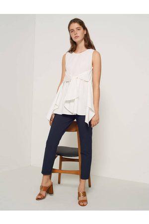 MARELLA Vania Tie Back Cotton Top