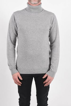 Daniele Fiesoli Roll Neck Sweater Grey Colour: Grey