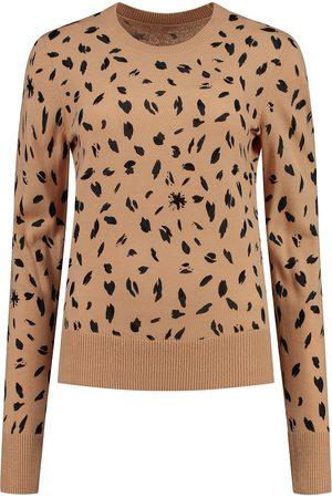 POM Amsterdam Women Sweaters - SP6367 Pullover - Leopard Sand