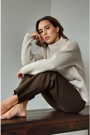 Maska Helga Wool Sweater in Oat