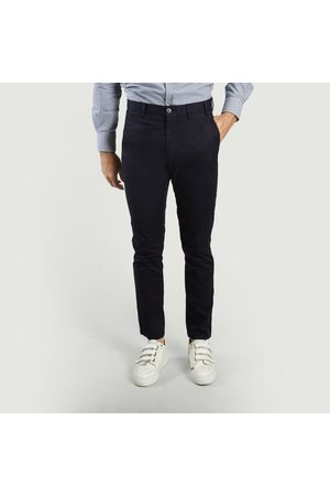 Norse projects Aros Slim Stretch Trousers Navy