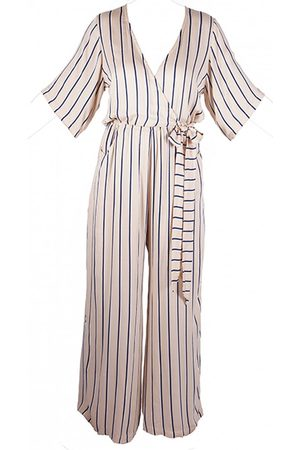 OUTLET Beachgold Lillia Striped Jumpsuit