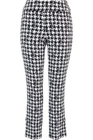 "Up Pants 67035 Techno 28"" Leg Side Slit Trousers - Gucci"