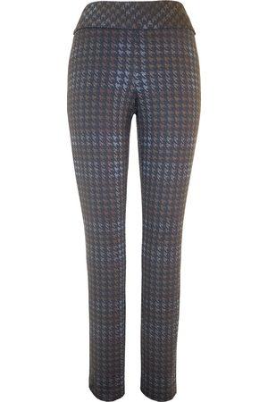 "Up Pants 67049 Ponte 31"" Leg Slim Trousers - Prada"