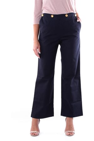 DEPARTMENT FIVE DEPARTMENT 5 Trousers Cropped Women Navy