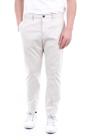 Nine In The Morning NINE: INTHE: MORNING Trousers Chino Men Ivory