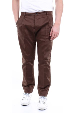 Nine In The Morning Men Chinos - NINE: INTHE: MORNING Trousers Chino Men Tobacco
