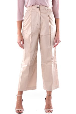 Max Mara S MAXMARA Trousers Cropped Women Camel