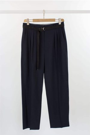 Max Mara Women Jeans - Weekend by MaxMara Orione Military Front Pleat Trouser