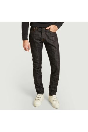 Momotaro Jeans High Waisted - 16 oz high tapered jean indigo