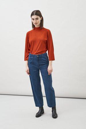 Maska Rami Hemp Organic Cotton Barrel Leg Jeans