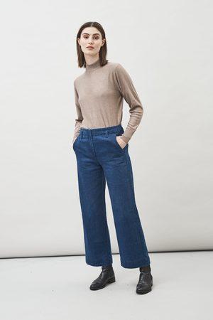 Maska Leja Hemp Organic Cotton Cropped Jeans